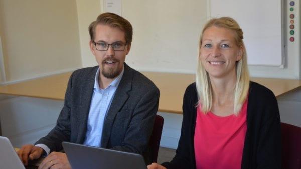 Tommy Nilsson och Anna Johansson, Byanätsforum