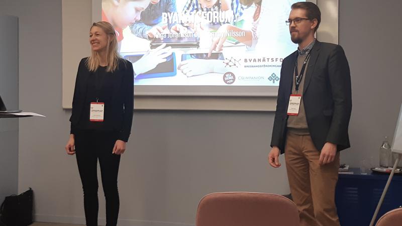 Nationell bredbandskonferens i Vara 2019 - Byanätsforums kansli