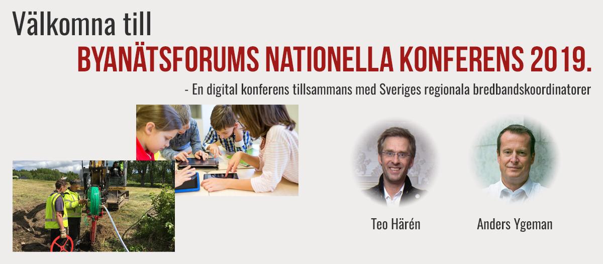 Byanätsforums nationella konferens 2019