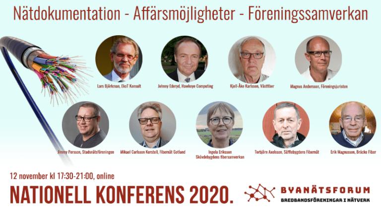 Byanätsforums nationella konferens 2020