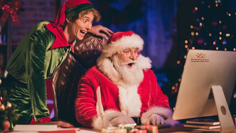 God Jul och Gott Nytt År önskar Byanätsforums kansli